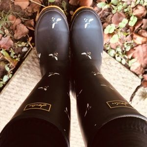Joules Bumblebee rain boots